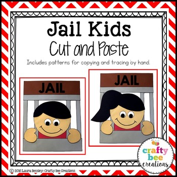Jail Kids Cut and Paste