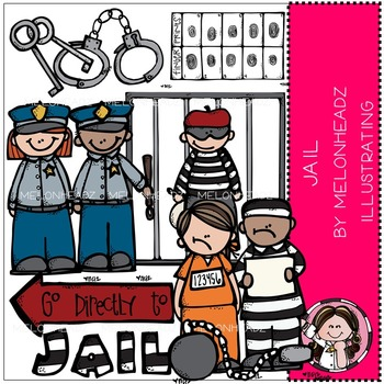 Melonheadz: Jail clip art