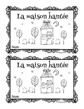 {J'aime l'Halloween - 3 interactive French texts for beginning readers}