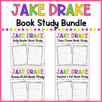 Jake Drake Book Study BUNDLE