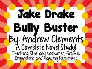 Jake Drake, Bully Buster - A Complete Novel Study!