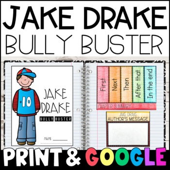 Jake Drake, Bully Buster: Complete Unit of Reading Responses