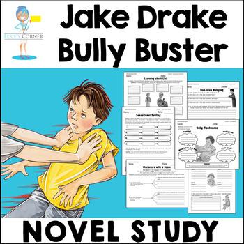 Jake Drake Bully Buster - Comprehension Activity Printables by ...