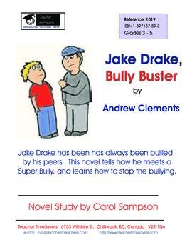 Jake Drake, Bully Buster - Novel Study for Grades 3-5