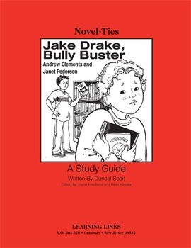 Jake Drake, Bully Buster - Novel-Ties Study Guide