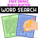Jake Drake, Bully Buster Word Search FREE