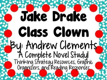 Jake Drake, Class Clown- A Complete Novel Study!