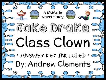 Jake Drake, Class Clown (Andrew Clements) Novel Study / Re