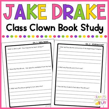 Jake Drake Class Clown - Book Study