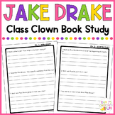 Jake Drake Class Clown - Book Study
