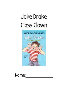 jake drake class clown comprehension questions