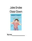 Jake Drake Class Clown Novel Study