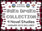 Jake Drake Collection (Andrew Clements) 4 Novel Studies / Comprehension Units