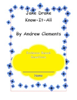Jake Drake Know-It-All  Chapter 1