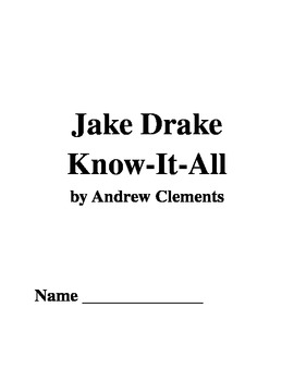 Jake Drake Know-It-All Comprehension Questions