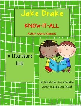 Jake Drake Know-It-All Literature Unit