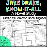 Jake Drake Know It All Novel Study