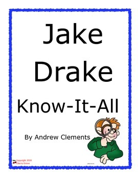 Jake Drake Know-It-All by Andrew Clements Imagine It Grade 5