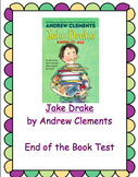 Jake Drake Know it All End of the Book Test