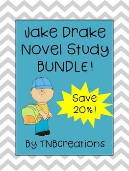 Jake Drake Novel Study Bundle