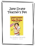 Jake Drake Teacher's Pet Literature Unit