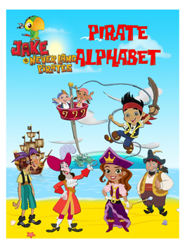 Jake Pirates Alphabet