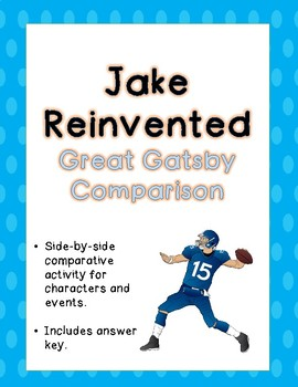 Jake Reinvented Comparison with The Great Gatsby