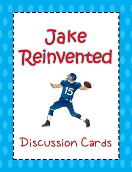 Jake Reinvented - Discussion Cards