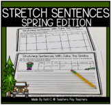 Stretching  Sentences with Jake The Snake ~ Spring Edition