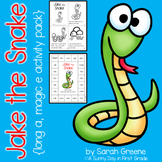 Jake the Snake {long a, magic e activity pack!}