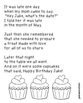 Jake's Cake--a Poem to Teach a silent e