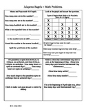 Jalapeno Bagels ~ Math Activity Sheets ~ Houghton Mifflin® ~ 2nd Grade