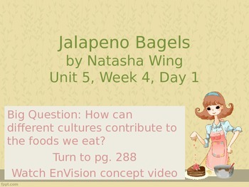 Jalapeno Bagels PowerPoint Reading Street 3.5.4
