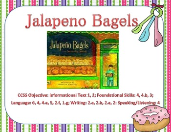 Jalapeno Bagels Reading Focus Wall
