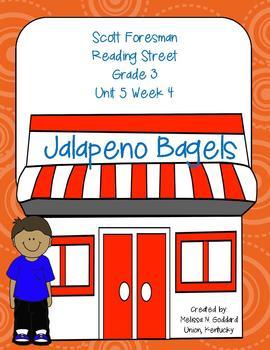 Jalapeno Bagels : Reading Street : Grade 3