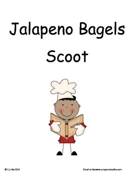Jalapeno Bagels ~ Scoot Game ~ Language Arts ~ Task Cards