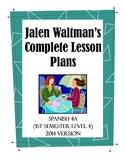 Jalen Waltman's Spanish 4A 2014 Lesson 1