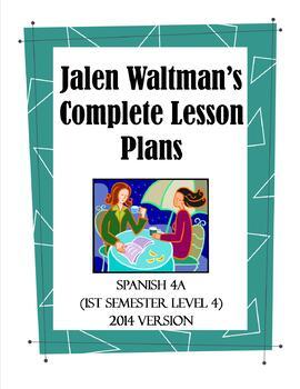 Jalen Waltman's Spanish 4A 2014 Lesson 19