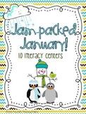 Jam Packed January Literacy Centers