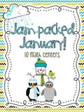 Jam Packed January Math Centers