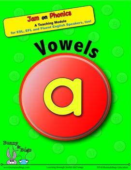 Jam on Phonics - Vowels