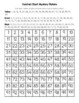 Jamaica (Jamaican) Flag Hundred Chart Mystery Picture with Number Cards