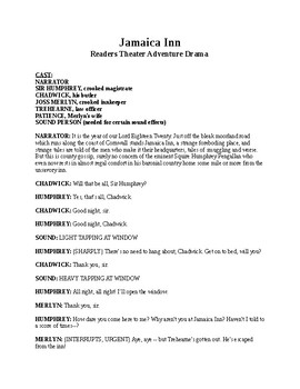 Drama - Jamaica Inn - Readers Theater Adventure