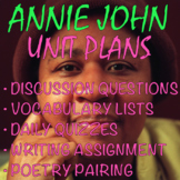 "ANNIE JOHN + ""Girl"" by Jamaica Kincaid: Unit Plan | 3 Weeks of DYNAMIC Lessons!!"