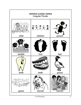 Jamaica Louise James Activities and Test Practice