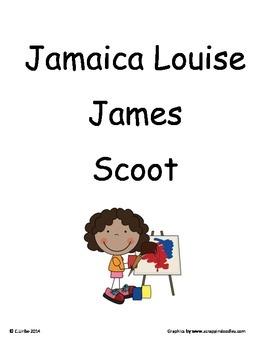 Jamaica Louise James ~ Scoot Game ~ Language Arts ~ Task Cards