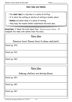 Jamaica Louise James Student Workbook