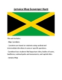 Jamaica Map Scavenger Hunt