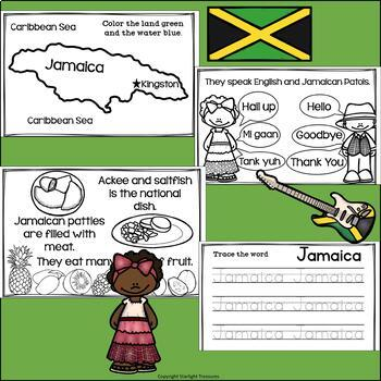 Jamaica Mini Book for Early Readers - A Country Study