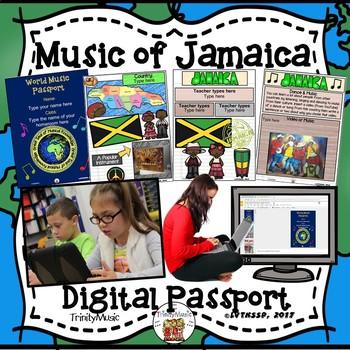 Jamaica World Music Digital Passport